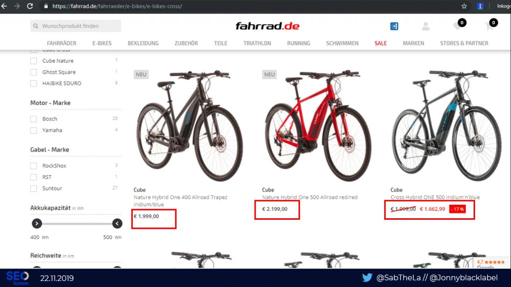 "Folie ""Fahrrad.de Kategorie"""