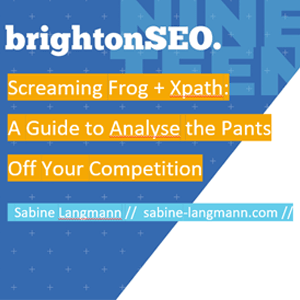 Brighton SEO April 2019 Teaser