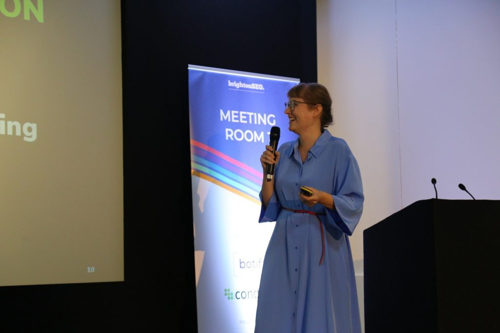 Sabine Langmann BrightonSEO